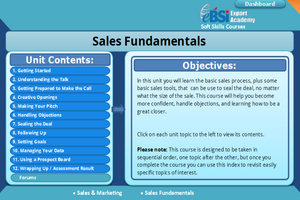 Sales Fundamentals - eBSI Export Academy