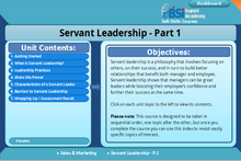 Load image into Gallery viewer, Servant Leadership - eBSI Export Academy