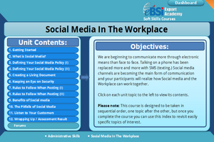 Social Media In The Workplace