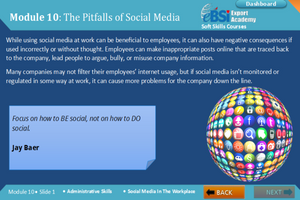 Social Media In The Workplace - eBSI Export Academy