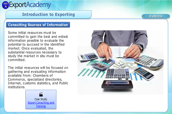 Introduction to Exporting