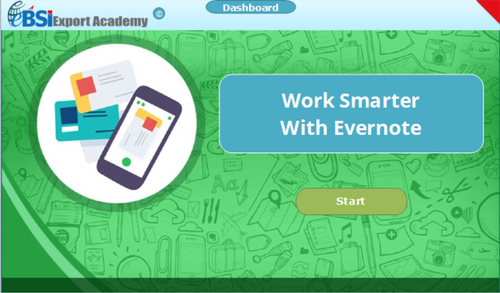 Work Smarter With Evernote - eBSI Export Academy