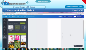 Graphic Design with Canva, Photoshop and GIMP - eBSI Export Academy