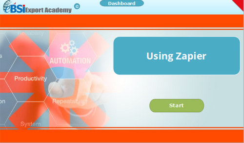 Using Zapier - eBSI Export Academy