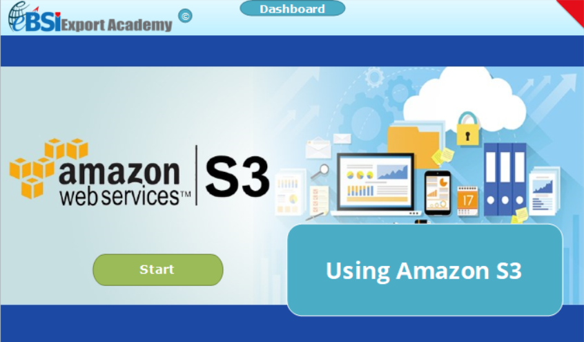 Using Amazon S3 - eBSI Export Academy