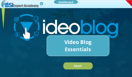 Video Blog Essentials - eBSI Export Academy
