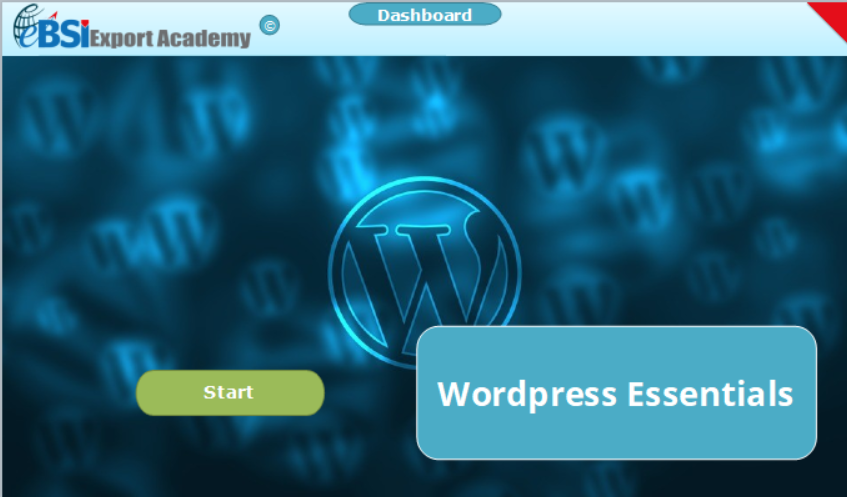 Wordpress Essentials - eBSI Export Academy