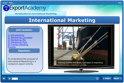 Introduction to International Marketing - eBSI Export Academy