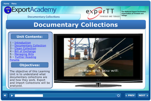 Export and Import Collections - eBSI Export Academy