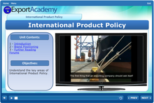 Load image into Gallery viewer, International Product Policy - eBSI Export Academy