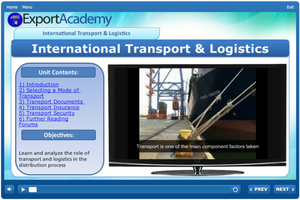 International Transport & Logistics - eBSI Export Academy