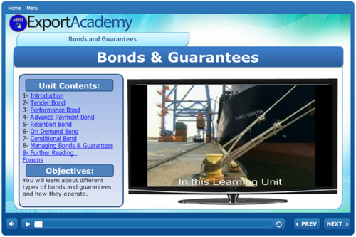 Bonds & Guarantees - eBSI Export Academy