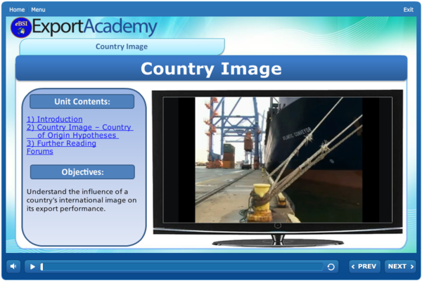 Country Image - eBSI Export Academy