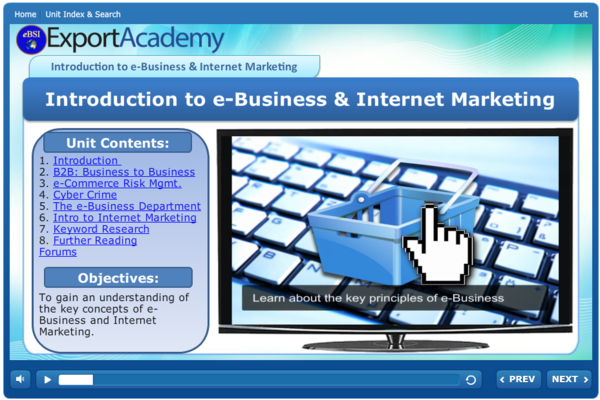 Introduction to e-Business and Internet Marketing