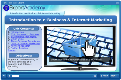 Introduction to e-Business and Internet Marketing - eBSI Export Academy