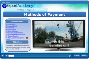 Introduction to International Trade Payments - eBSI Export Academy