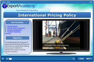 International Pricing Policy - eBSI Export Academy