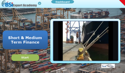 Short and Medium Term Finance - eBSI Export Academy