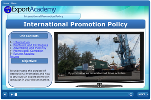International Promotion Policy - eBSI Export Academy