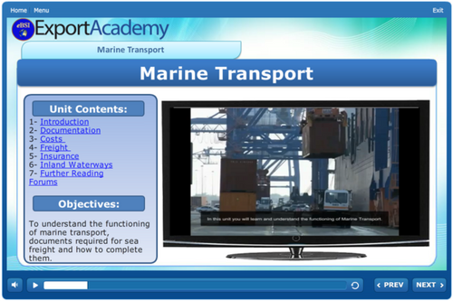 Marine Transport