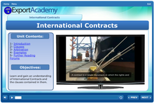 Load image into Gallery viewer, International Contracts - eBSI Export Academy