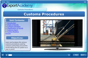 Customs Procedures - eBSI Export Academy