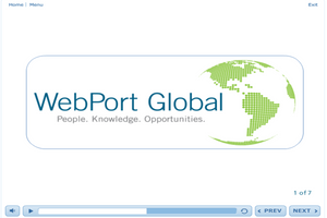 Networking with WebPort Global
