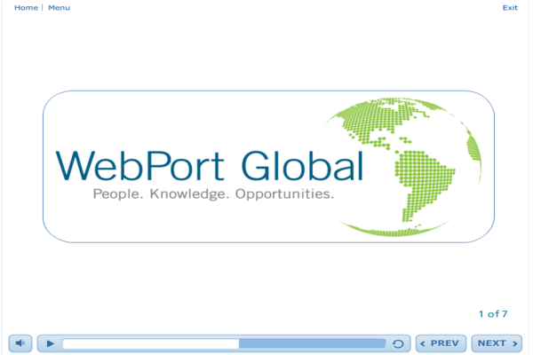 Networking with WebPort Global - eBSI Export Academy