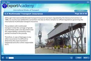 International Modes of Transport - eBSI Export Academy