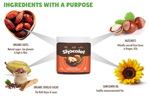 Shocolat Hazelnut Chocolate Spread 2-Pack 16 Oz Total