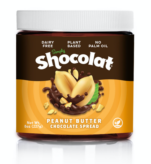 Shocolat Peanut Butter Chocolate Spread 2-Pack 16 Oz Total