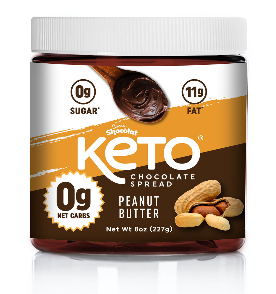Shocolat Peanut Butter Chocolate Spread 2-Pack 16 Oz Total - Keto