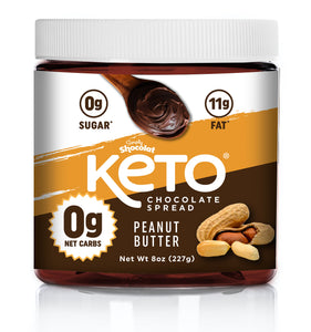 Shocolat Hazelnut & Peanut Butter Chocolate Spread MIXED 2-Pack 16 Oz Total - Keto