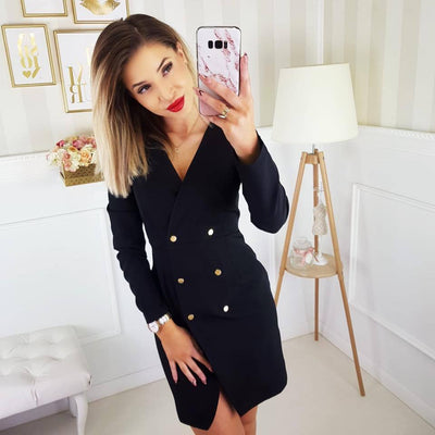 Blazer Mini Dress
