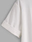 Soft Look T-Shirt with Rolled Sleeve