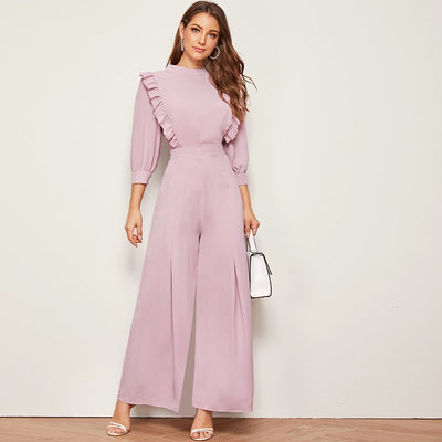 No Frills Wide Leg Pant Set