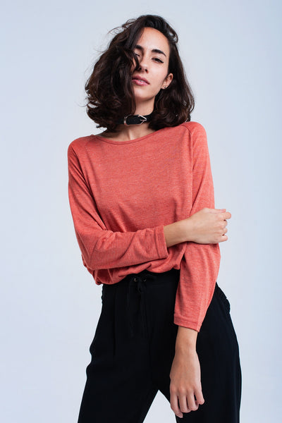 Oversized fit Batwing T-Shirt with Asymmetrical Hem