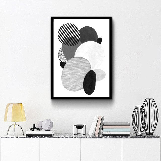 Abstract Geometric Pattern Art Prints