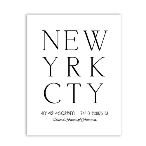 New York City &  Brooklyn Bridge Art Print