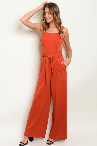 Gia Earth Jumpsuit