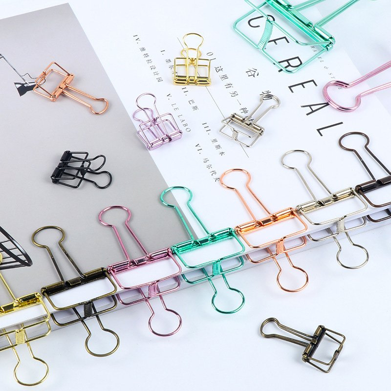 Hollowed Out Binder Clips