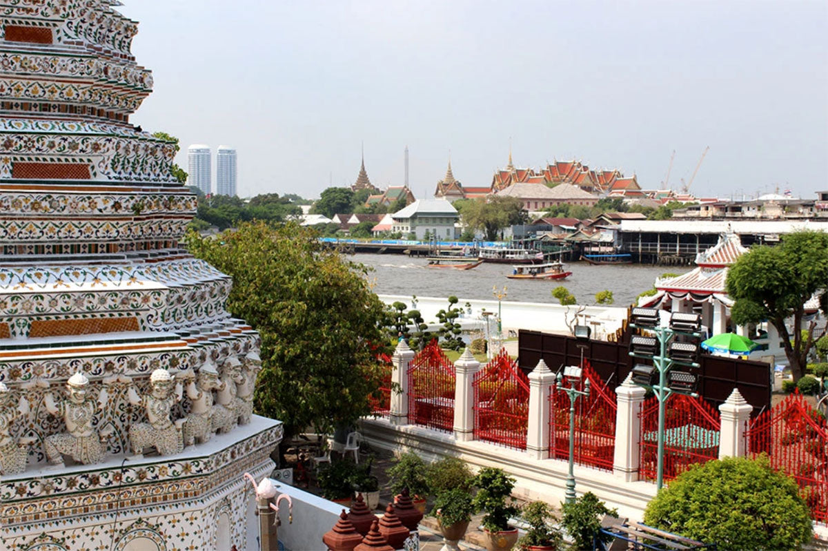 A view from Wat Arun