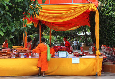 Monks at Doi Suthep