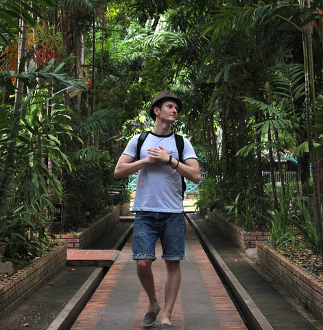 Walking in a park in Chiang Mai 1