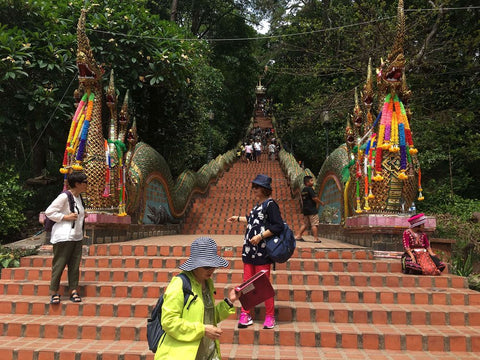 Stairs towards Doi Suthep