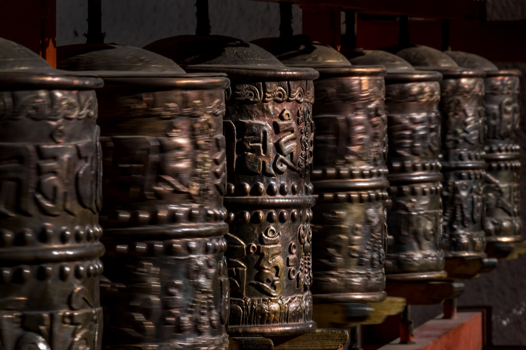 Eberhard Hahne • PRAYER WHEELS IN MOTION