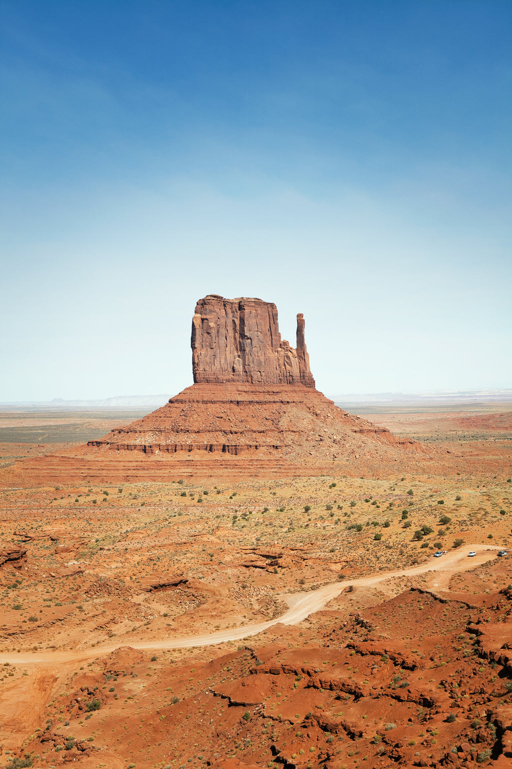 Hergen Schimpf • MONUMENT VALLEY - WEST MITTEN BUTTE