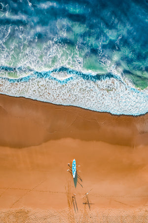 Alexander Kesselaar • HEADING OUT WANDA BEACH • 2018