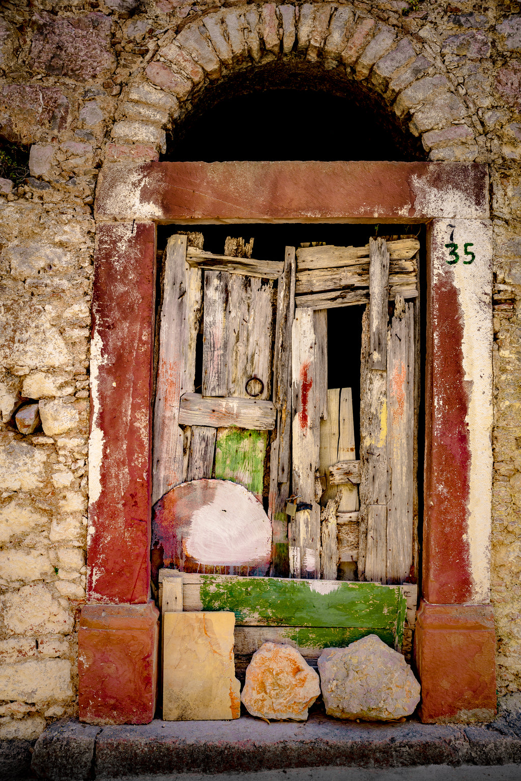 Anna Wacker • OLD POETIC DOOR