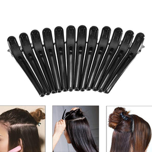 Black Hair Grip Clips